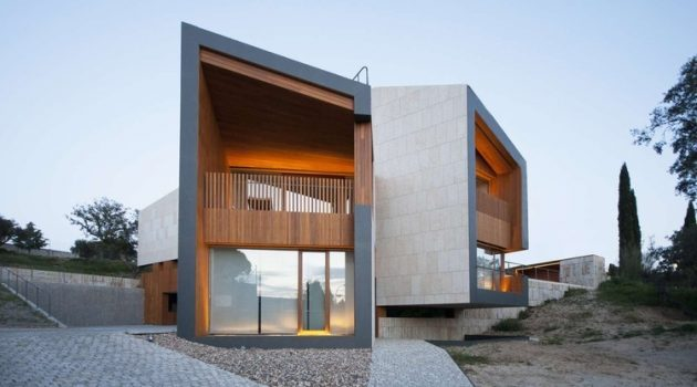 Monteprincipe House by Camacho Macia Architects in Madrid, Spain