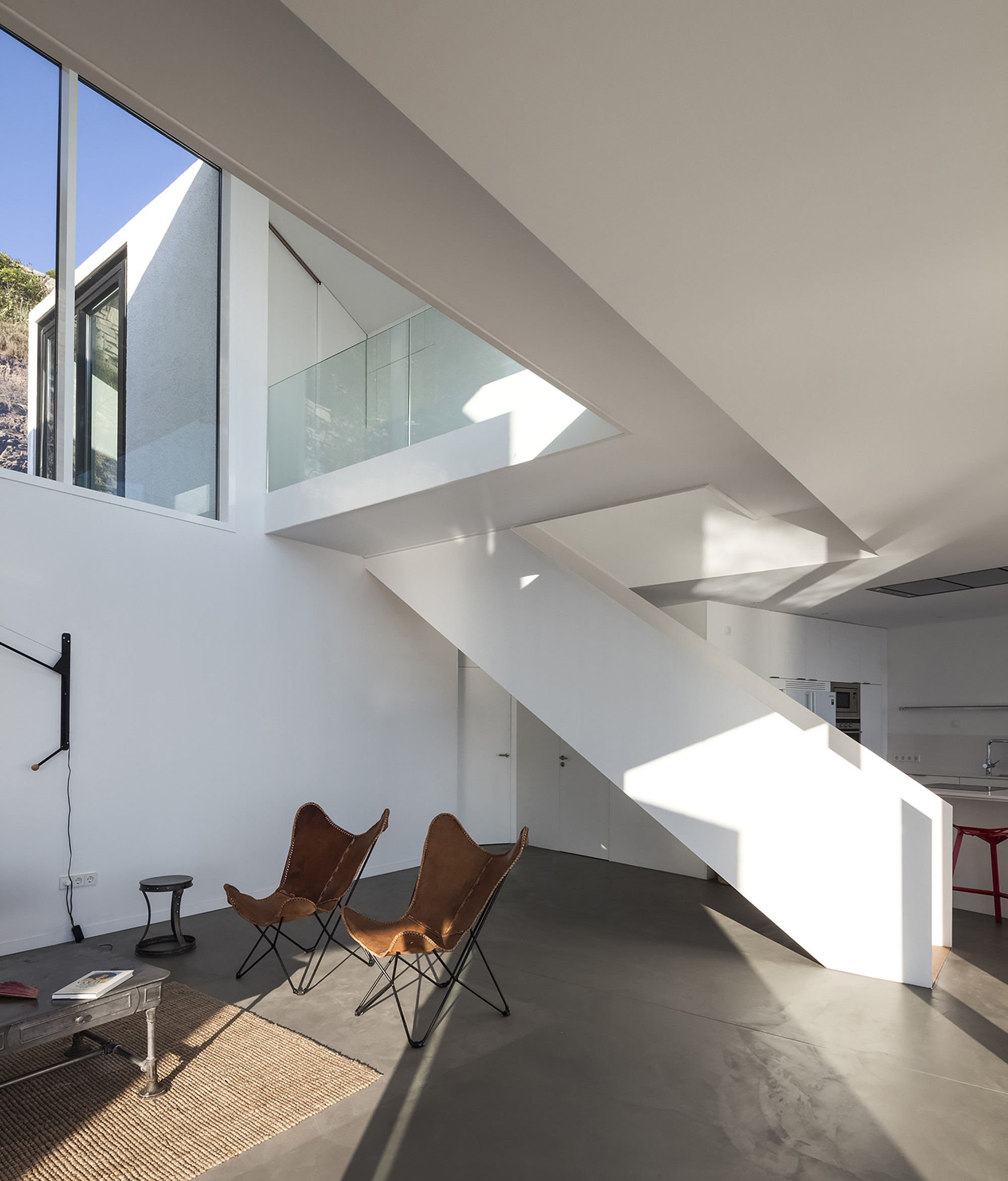 Tree Inside The House Interior Climate Controlled: Sunflower House By Cadaval & Solà-Morales In Girona, Spain