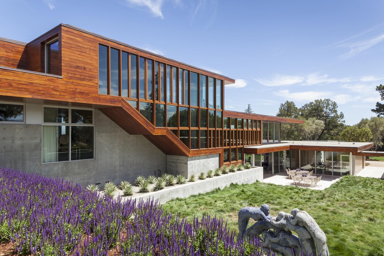 Vidalakis residence by swatt miers architects in portola - Residence calistoga strening architects californie ...