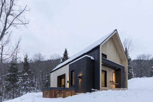 Villa Boreale by CARGO Architecture in Charlevoix, Canada