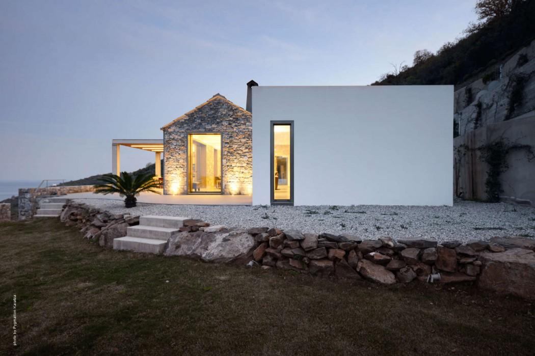 Villa melana by studio 2 pi architecture in tyros greece for Home architecture blog