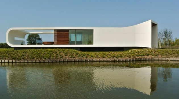 Villa New Water by Waterstudio in Westland, The Netherlands