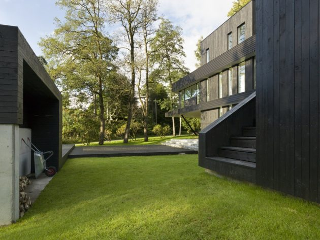 Villa S by Saunders Architecture in Bergen, Norway