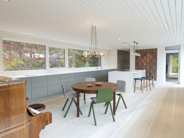 Villa S by Saunders Architecture in Bergen, Norway