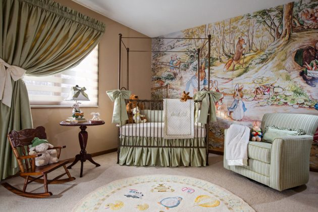 18 Gorgeous Nursery Designs Ideas With Traditional Charm