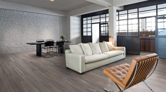 Grey Wooden Floor- Necessary Addition To Every Modern Home