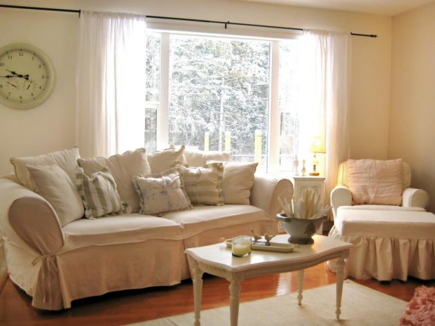 Simple No Money Tips For Easily Decorating Shabby Chic Living Room