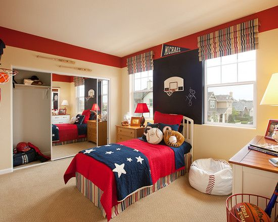17 Inspirational Ideas For Decorating Basketball Themed Kids Room