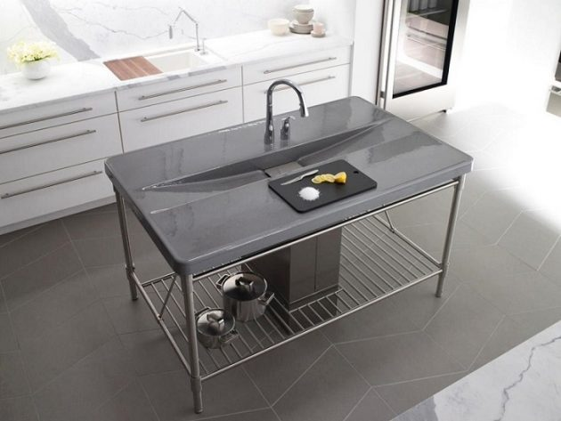 17 Attractive Kitchen Sink Designs That Will Catch Your Eye