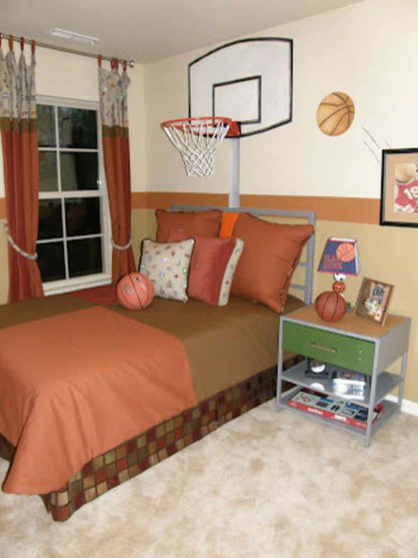 basketball themed room 17 inspirational ideas for decorating basketball themed 10184