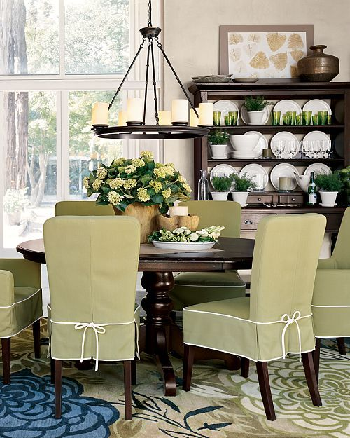 Genial 18 Lovely Chair Cover Designs To Refresh The Look Of Every Dining Room