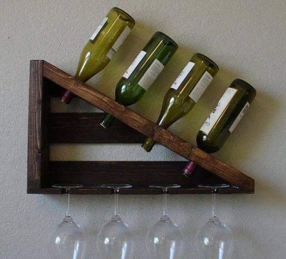 18 Creative Wine Shelf Designs To Adorn Your Kitchen