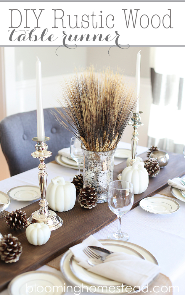 15 Amazing DIY Thanksgiving Table Decor Ideas To Get You ...