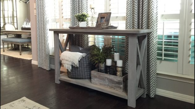 15 Classy Handmade Farmhouse Furniture Designs You Could DIY