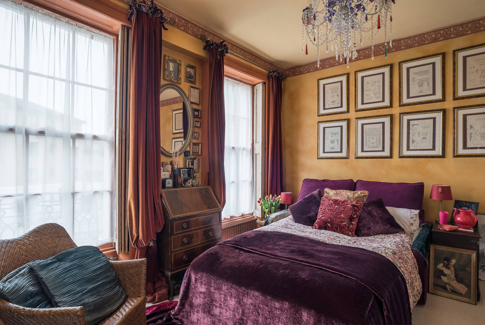 15 Extravagant Eclectic Bedroom Designs That Will Take ...