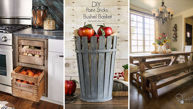 15 Incredible Diy Farmhouse Decor Ideas To Update Your