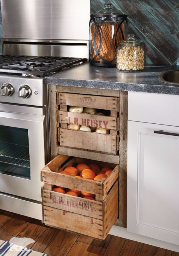 15 incredible diy farmhouse decor ideas to update your kitchen with. Black Bedroom Furniture Sets. Home Design Ideas