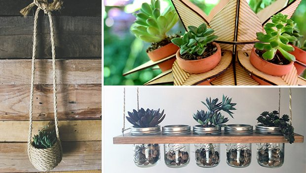 15 Irresistible Handmade Hanging Planter Designs As A New Form Of Decor