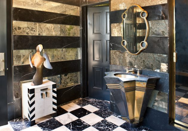 15 Magnificent Eclectic Bathroom Designs That Are Full Of Ideas