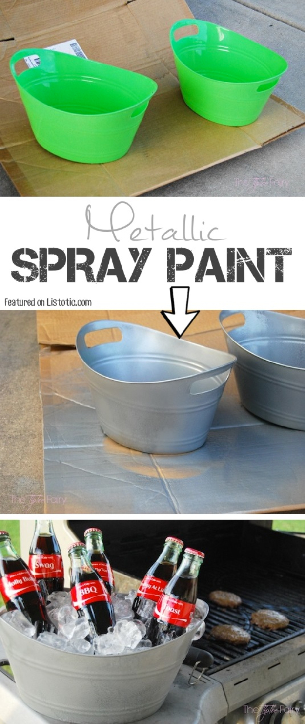 15 Remarkable DIY Ideas To Repurpose Things By Spray Painting Them