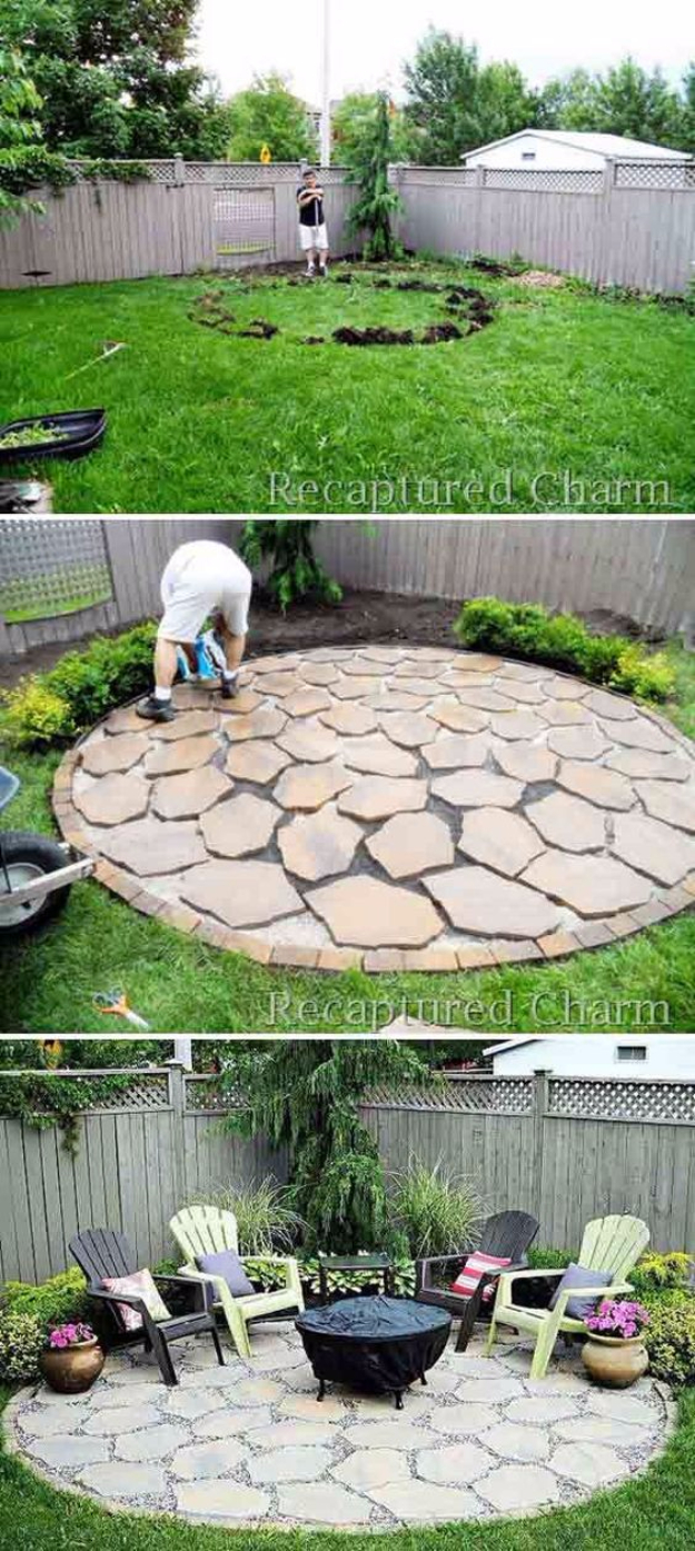 16 Incredible Diy Ideas For Outdoor Fire Pit And Fireplace