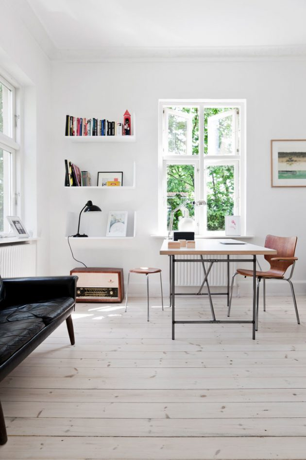 16 Inspirational Scandinavian Work Room Designs That Will Motivate You