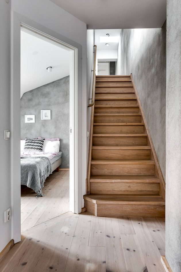 16 sophisticated scandinavian staircase designs for an