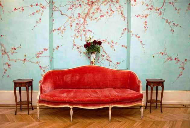 Floral Wall Mural: Perfectly Addition To Any Living Room