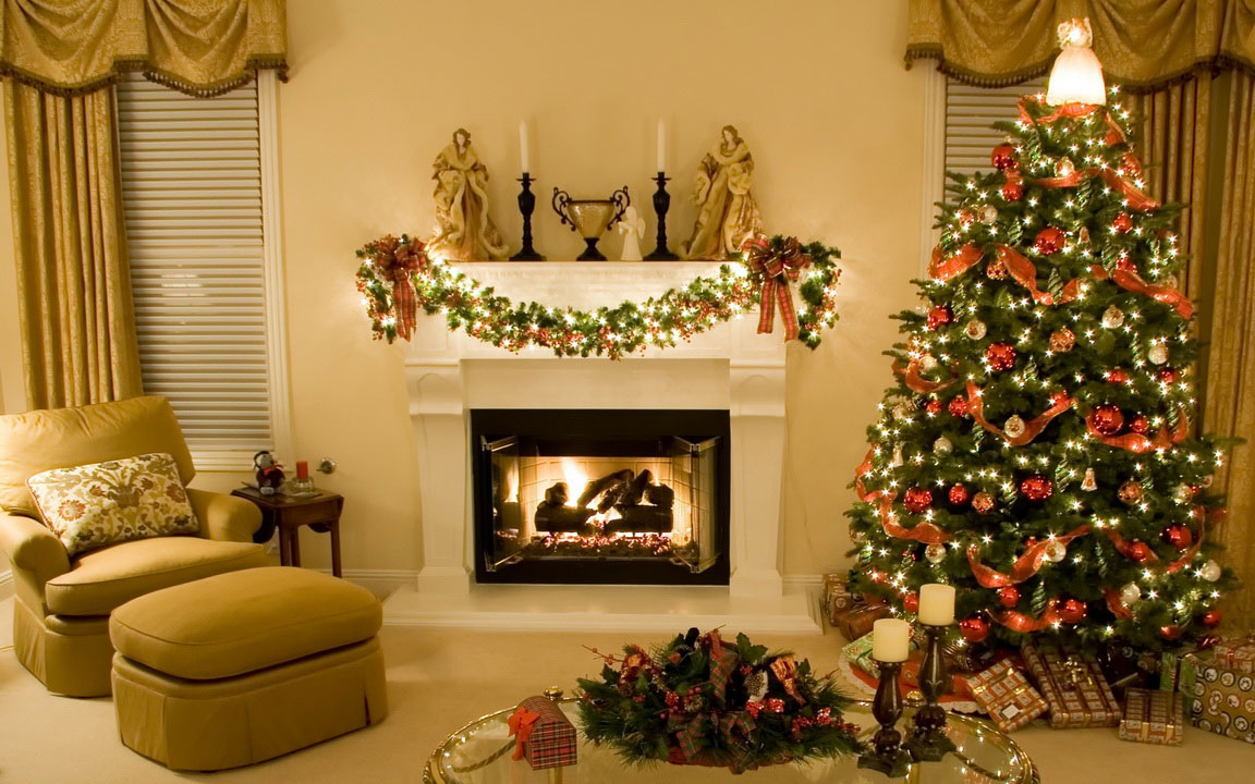 19 marvelous ideas to decorate your home with stunning christmas tree - Interior Christmas Decorating Ideas