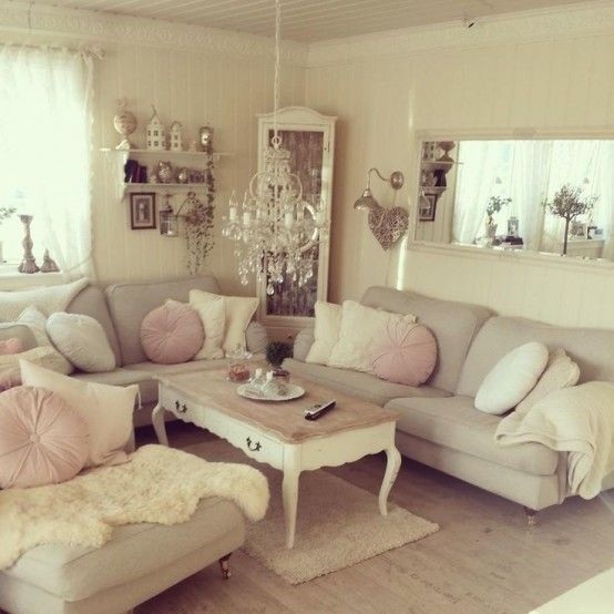 Simple No-Money Tips For Easily Decorating Shabby Chic Living Room