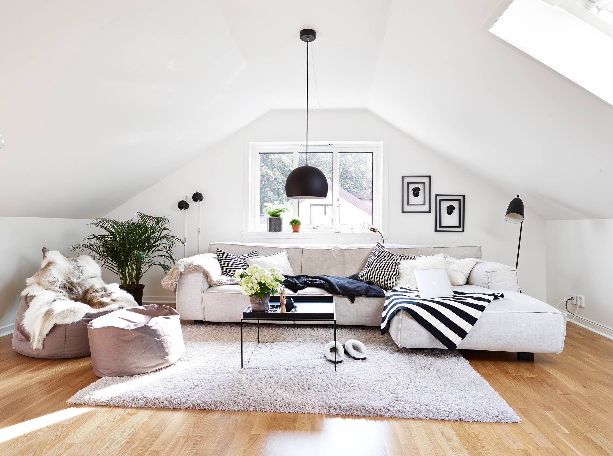 superb living room in home attic design | 18 Gorgeous Attic Living Room Designs That Everyone Need ...
