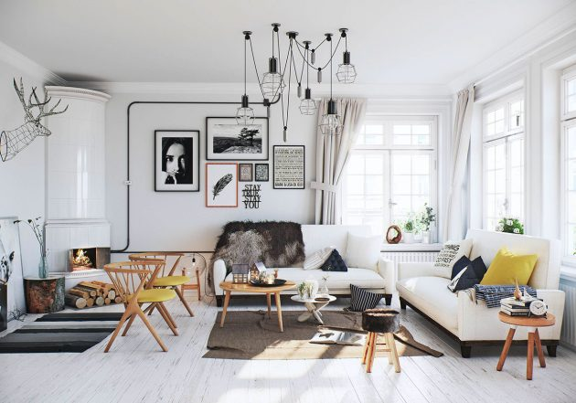 17 Charming Scandinavian Living Room Designs That You Need To See