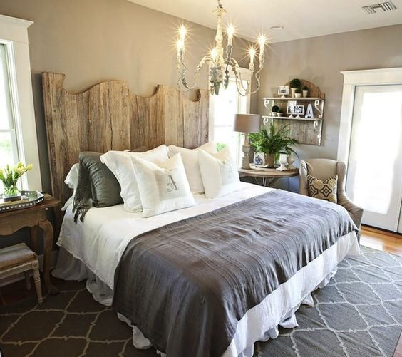 15 Wicked Rustic Bedroom Designs That Will Make You Want Them: 18 Charming Country Bedroom Designs That Will Delight You