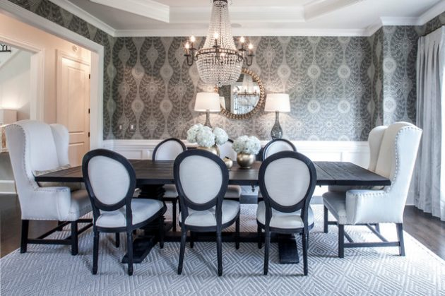 19 Phenomenal Wallpaper Designs To Beautify Your Dining Space