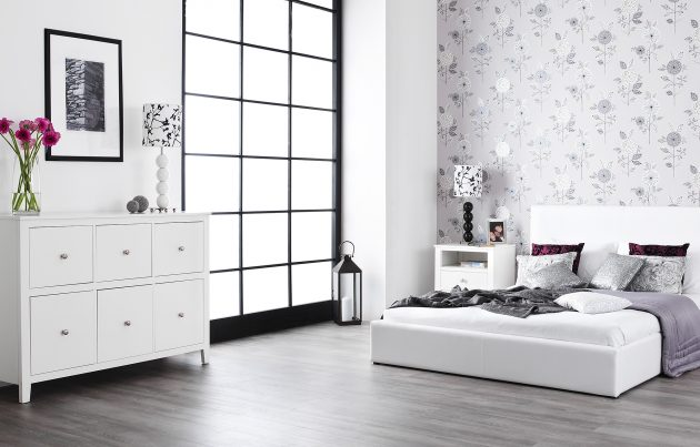 18 Excellent Bedroom Designs With White Furniture That Will