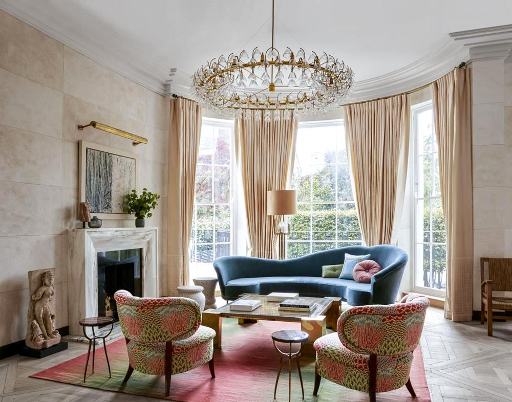 19 interesting ways to refresh your living room with beautiful curtains - Beautiful curtains for living room ...