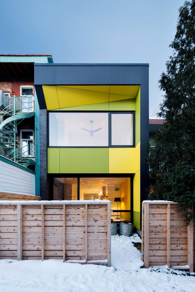 8th Ave Residence by NatureHumaine in Montreal, Canada