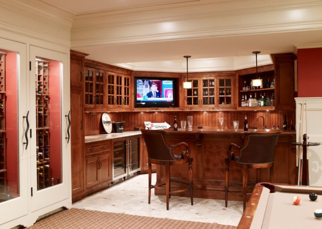 19 Fascinating Ideas To Remodel Your Basement Into Beautiful Bar