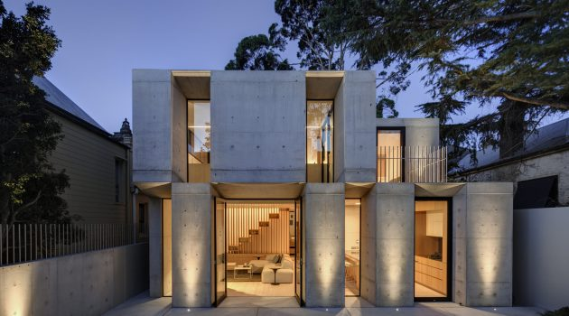 Glebe House by Nobbs Radford Architects in Sydney, Australia