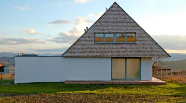 House with a View by doomo in Mogilany, Poland