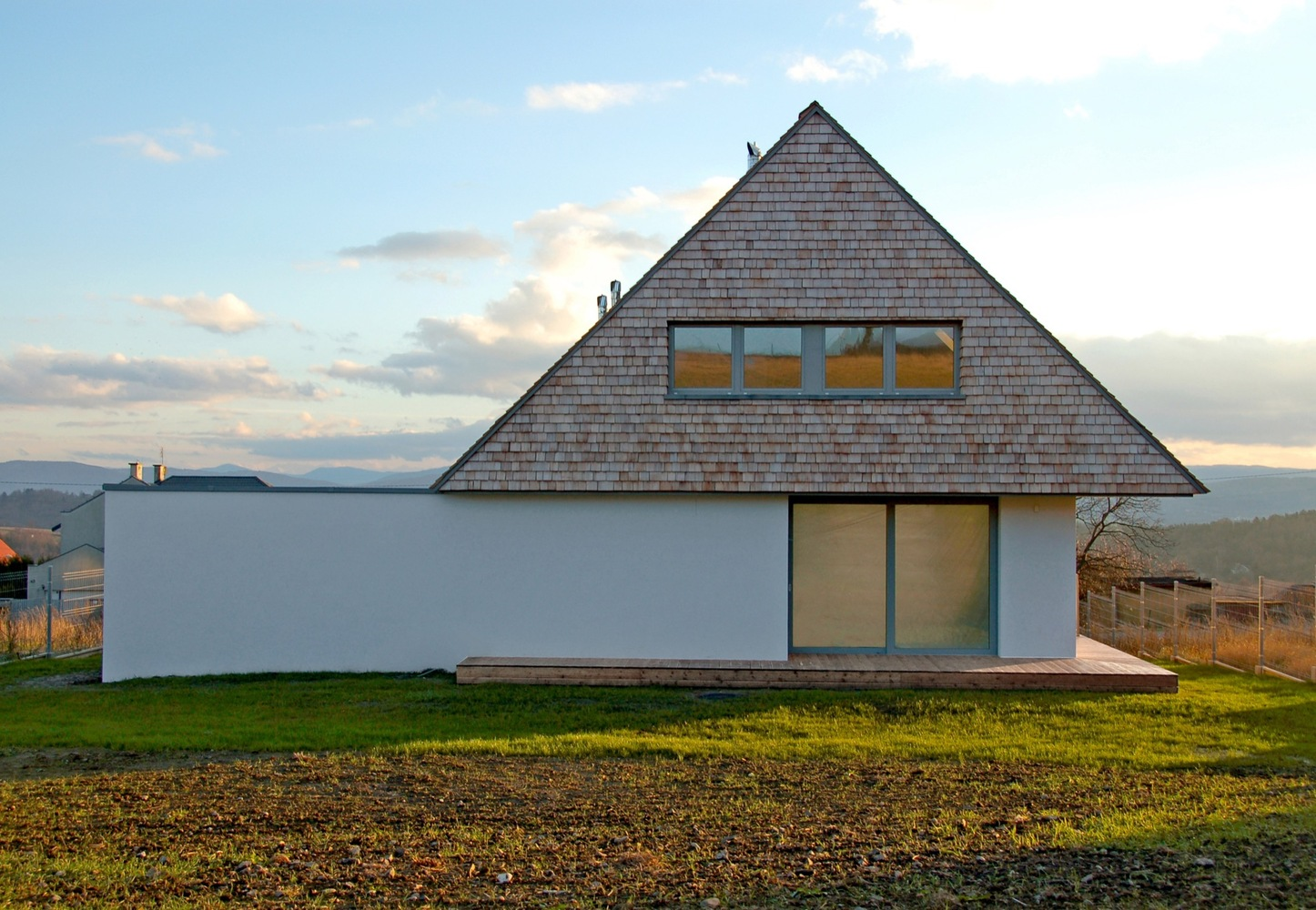 House with a view by doomo in mogilany poland for House plans with a view