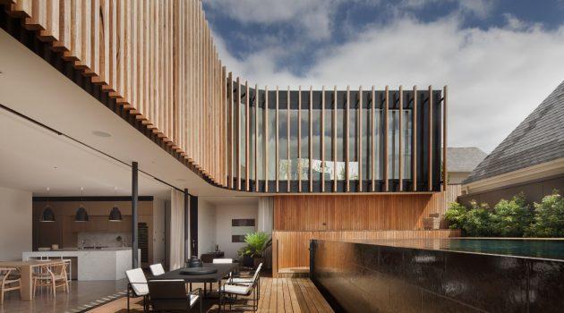 Kooyong Residence by Matt Gibson Architecture in Melbourne, Australia