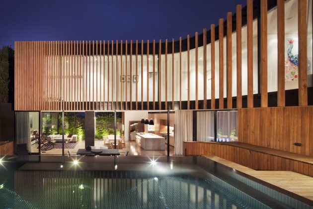 Kooyong Residence by Matt Gibson Architecture in Melbourne, Australia