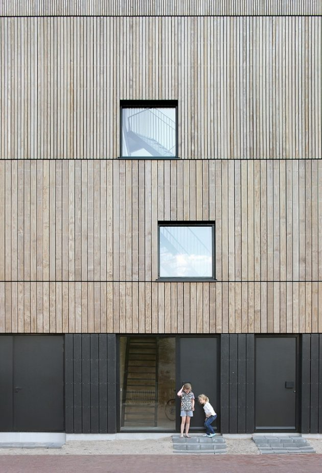 Lofthouse I by Marc Koehler Architects in Amsterdam, The Netherlands