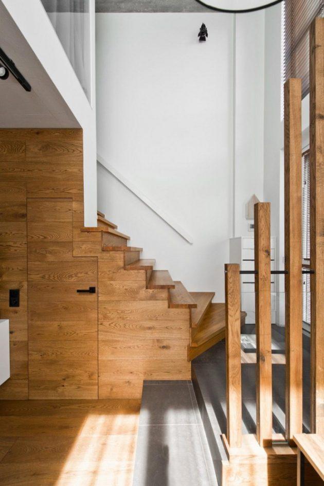 Modern Scandinavian Loft Interior by InArch in Vilnius, Lithuania