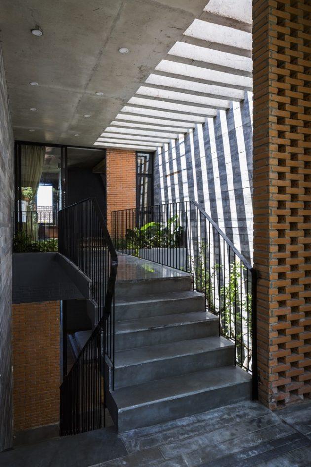 Resort in House by ALPES Green Design & Build in Vietnam