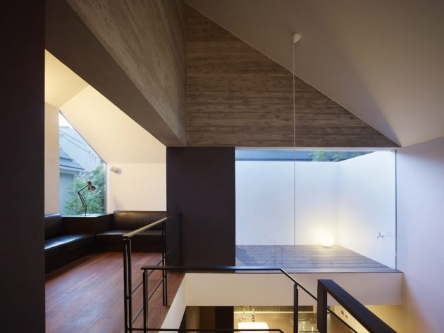 Shirokane House by MDS Architects in Tokyo, Japan