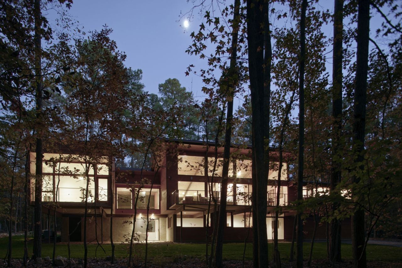 Stoneridge house by in situ studio in north carolina usa for Chapel hill house