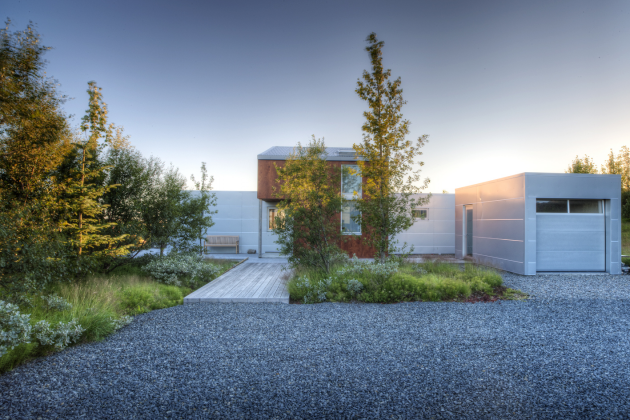 The Nice Ice House by Minarc in Reykjavik, Iceland