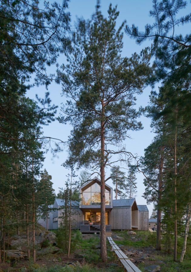 Villa Sunnano by Murman Arkitekter in Sunnanö, Sweden